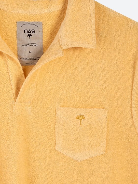 OAS - Solid Peach Terry Shirt