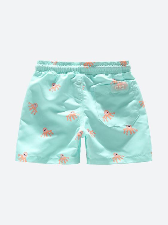 OAS - Kids Orange Octopous Swim Shorts
