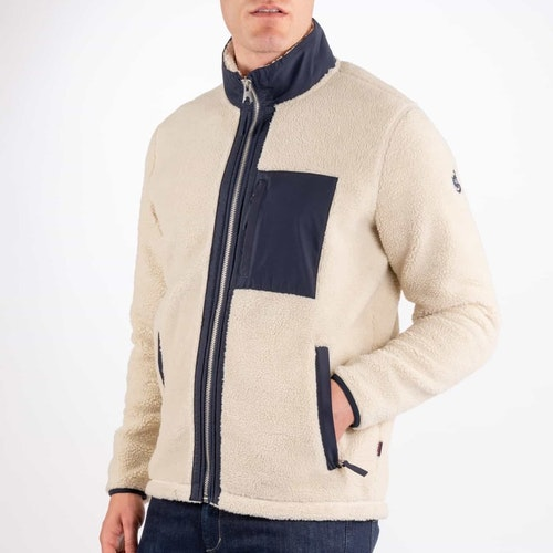 Sebago - Pile Sweater, White
