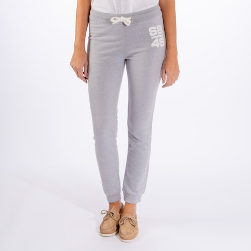Sebago - Dockside Sweat Pant, Grey Mel