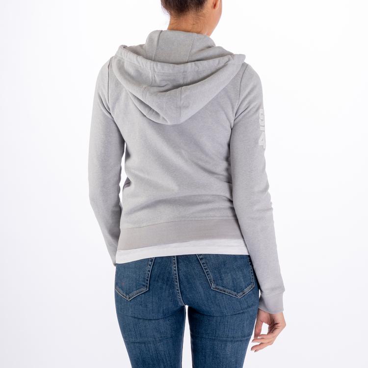 Sebago - Docksides Zip Sweat Hoodie, Light Grey