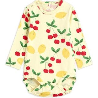 Mini Rodini - Cherry Lemonade LS Body
