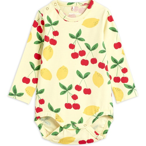 Mini Rodini - Cherry Lemonade LS Body