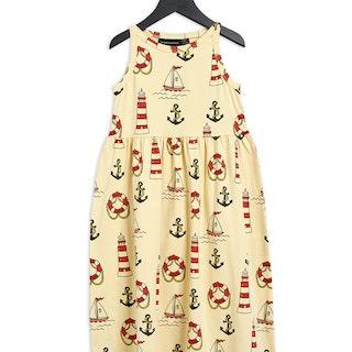Lighthouse Tank Dress, Yellow