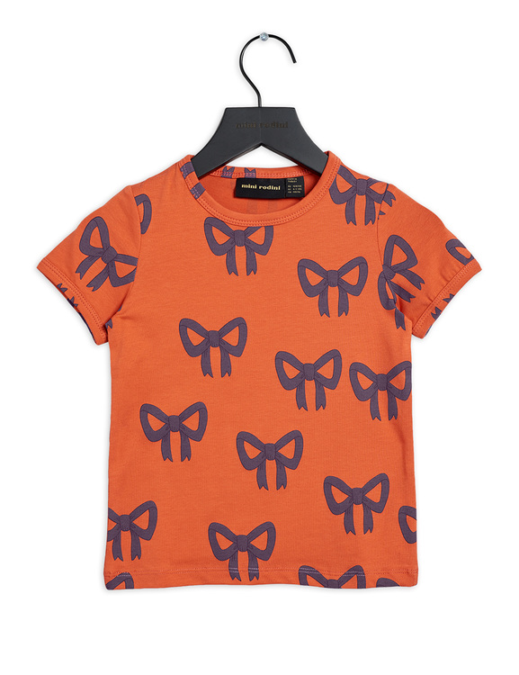 Bow SS Tee, Red
