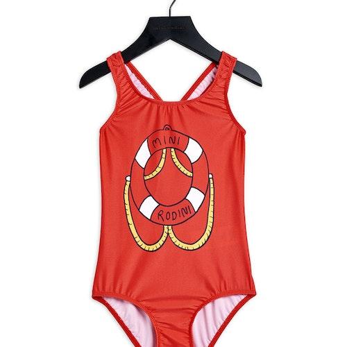 Float UV Swimsuit, Red