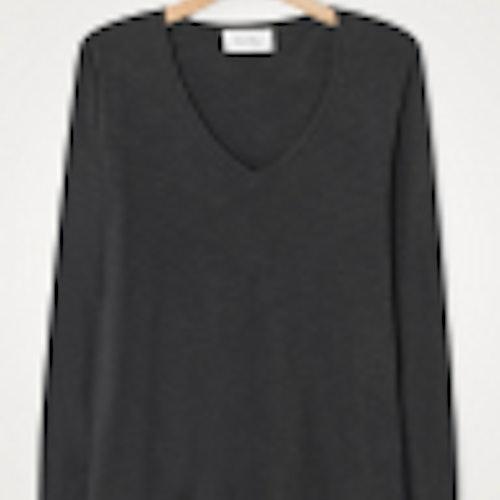 American Vintage - Jacksonville LS T-Shirt, Carbone