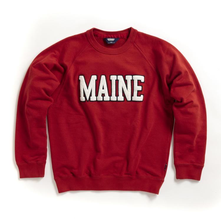 Sebago - Bow Maine Sweater, Red