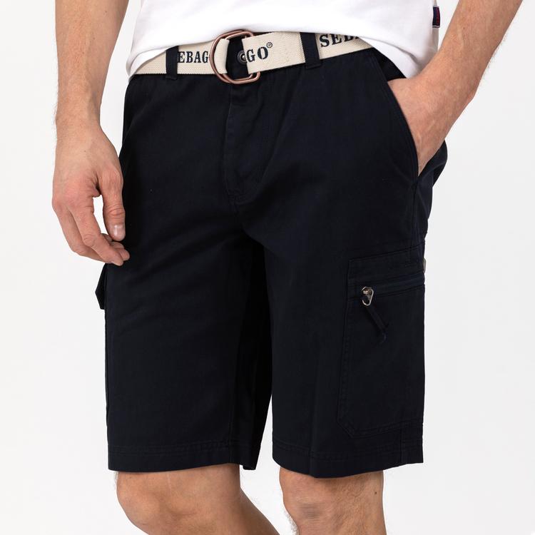 Sebago - Cargo Crew Shorts, Navy