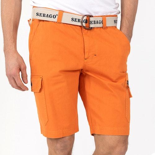 Sebago - Cargo Crew Shorts, Orange