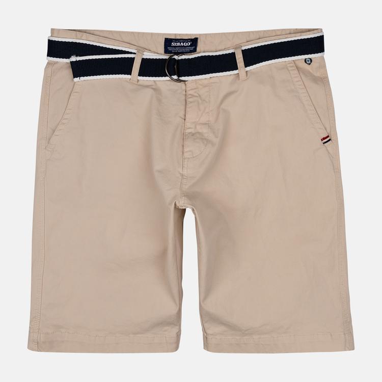 Sebago - DKS Belted Bermuda Shorts, Dk Sand