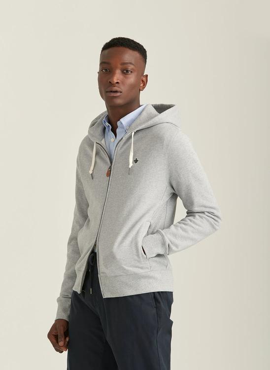 Morris - Berkley Zip Hood Grey