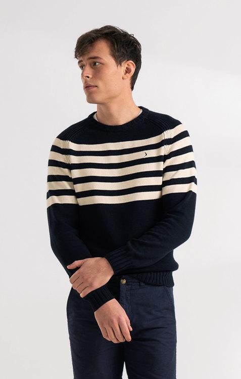 Boomerang - Bernt Sweater, Midnight Blue