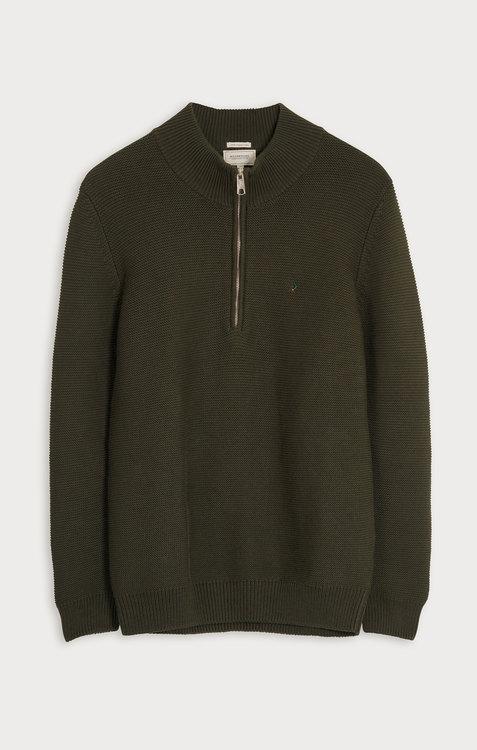 Boomerang - Albin Half Zip Sweater, Urban Jungle
