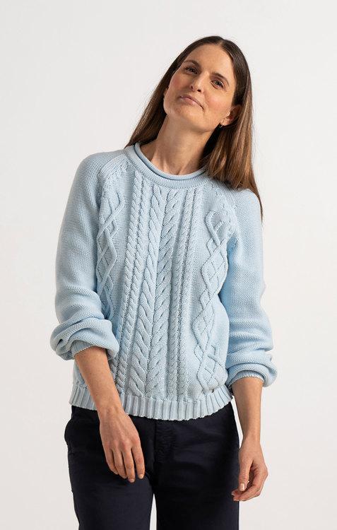 Boomerang - Loppan Sweater, Airy Blue