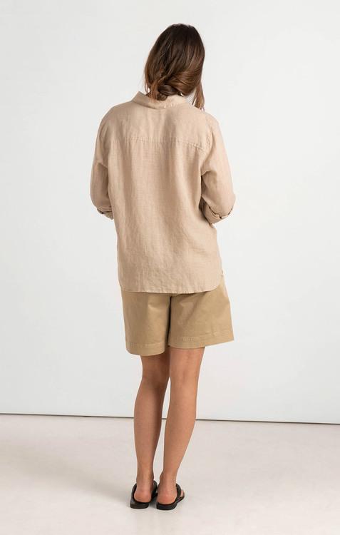 Boomerang - Lina Linen Shirt, Panama