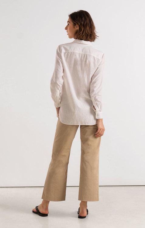 Boomerang - Petra Pop Over Shirt, White