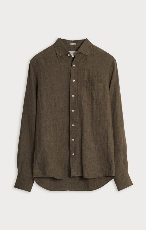Boomerang - Linus Linen Shirt, Urban Jungle