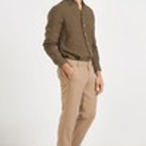 Boomerang - Linus Linen Shirt, Urban Jungle