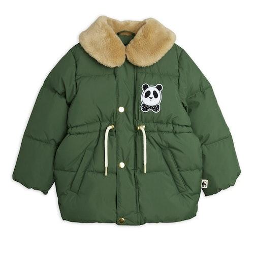 Mini Rodini - Panda Puffer Jacket, Dk Green