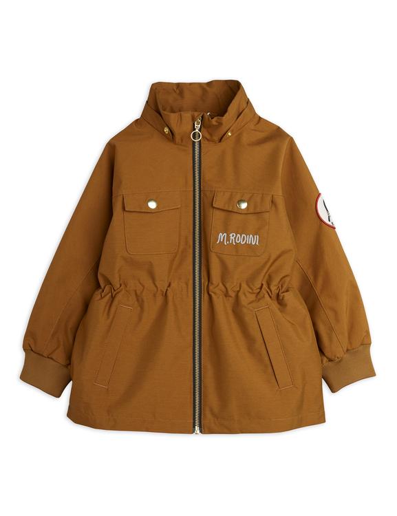 Mini Rodini - Shell Jacket, Brown