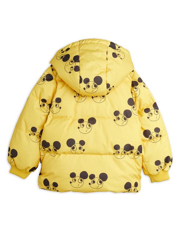 Mini Rodini - Ritzratz Puffer Jacket, Yellow