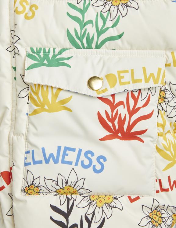 Mini Rodini - Edelweiss Heavy Puffer, Offwhite