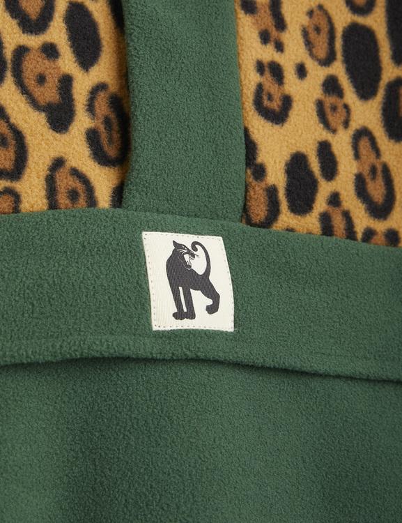 Mini Rodini - Fleece Zip Pullover, Green