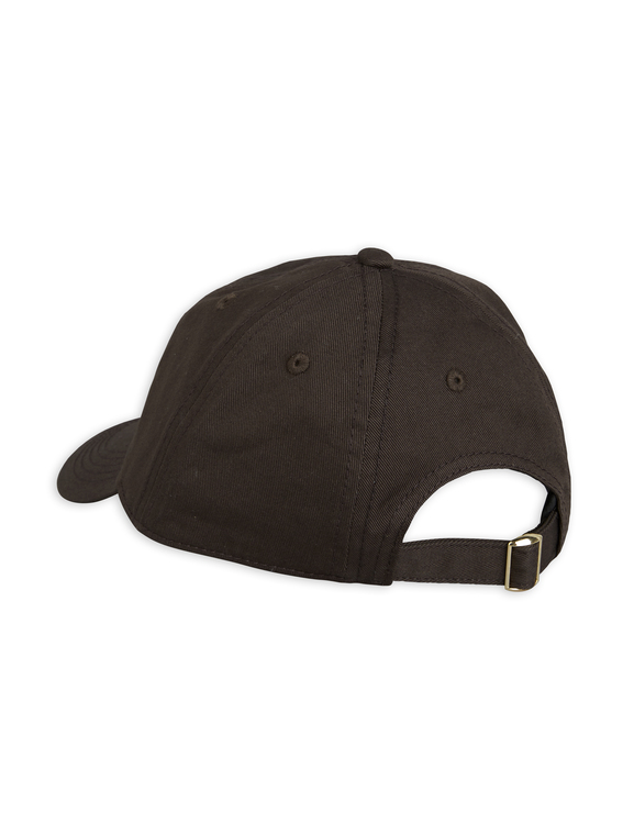 Mini Rodini - Blackbird Soft Cap, Black