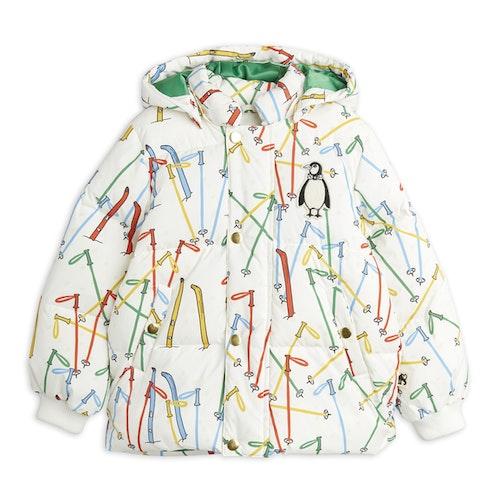 Mini Rodini - Skis Puffer Jacket, Offwhite