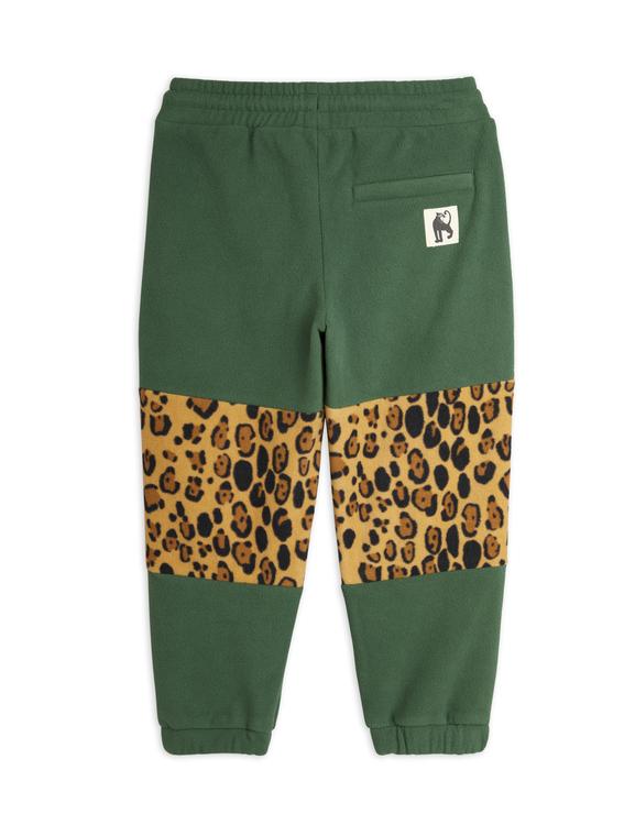 Mini Rodini - Panel Fleece Pants, Green