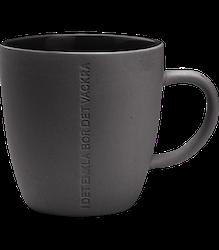 ernst mugg H 11cm mörk grå
