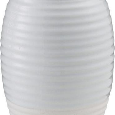 ernst vas glaserad matt i stengods H 11cm vit