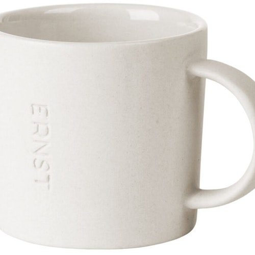ernst kopp i stengods H 6cm vit
