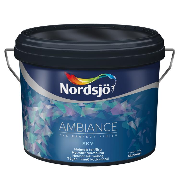 Nordsjö Ambiance Sky Takfärg vit