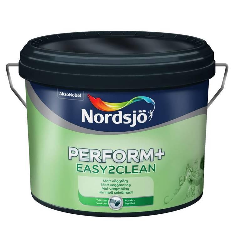 Nordsjö easy2clean väggfärg 10 glans
