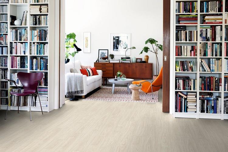 Pergo vinylgolv nordic white oak plank