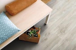 Pergo vinylgolv soft grey oak plank