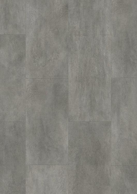 Pergo vinylgolv dark grey concrete tile