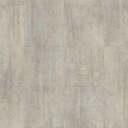 Pergo vinylgolv light grey travertin tile