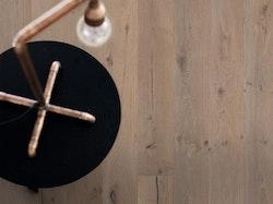 Pergo trägolv grey vintage oak plank extra matt lack.
