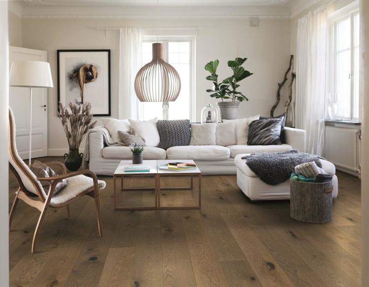 Pergo trägolv saddle brown oak plank matt lackad