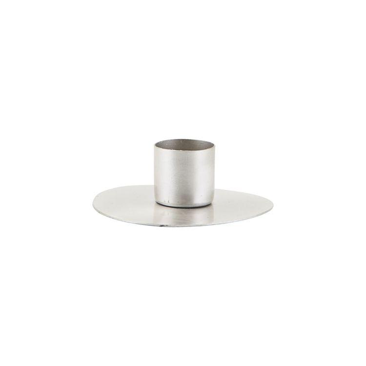 Housedoctor Circle ljusstake H 2,5 cm D 7 cm zink
