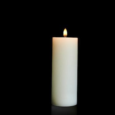 Piffany Uyuni pelarljus led D 7,8 cm H 23,1 cm colour Ivory