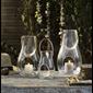 Holmegaard lanterna klarglas H 16 cm