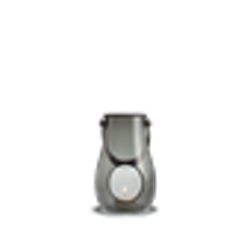 Holmegaard lanterna smoke H 16 cm