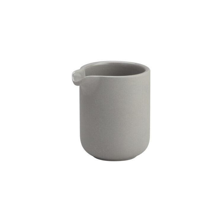 ernst mjölkkanna i stengods H9cm grå