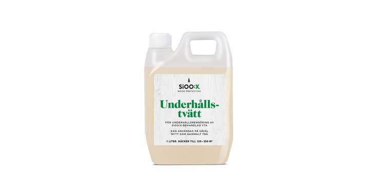 SiOO:X Underhållstvätt