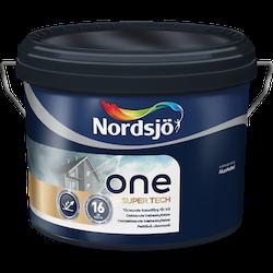 Nordsjö One Super Tech fasadfärg