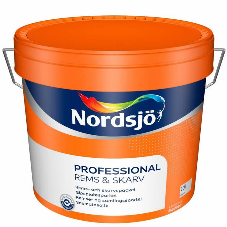 Nordsjö professional rems & skarvspackel 10L